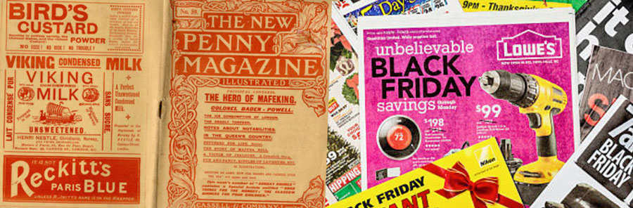 Magazine and newspapers advertising