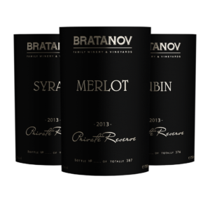 Wine labels design Bratanov Private Reserve by creative marketing & branding agency AdwayCreative