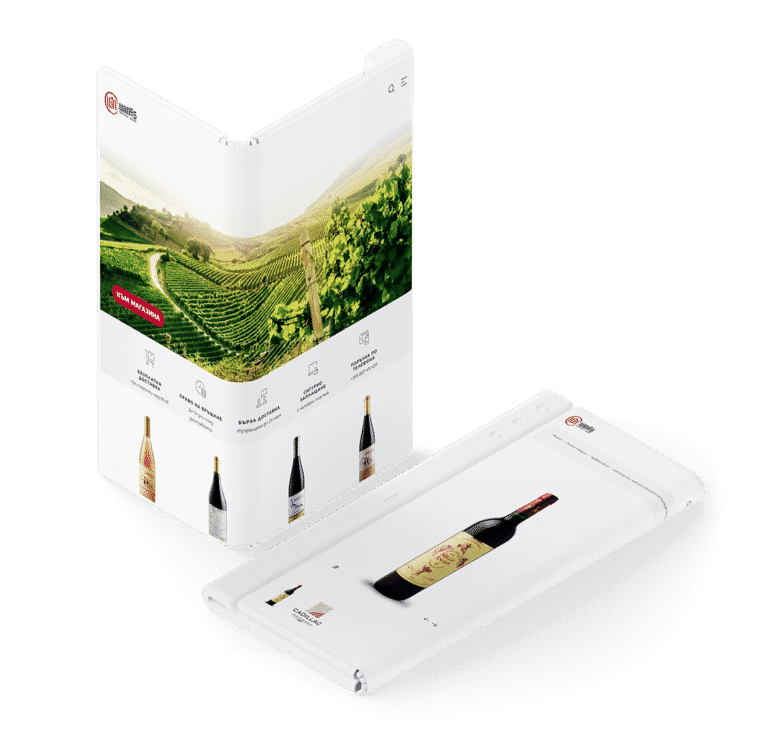 Win wines e-commerce website design by creative marketing & branding agency adwaycreative