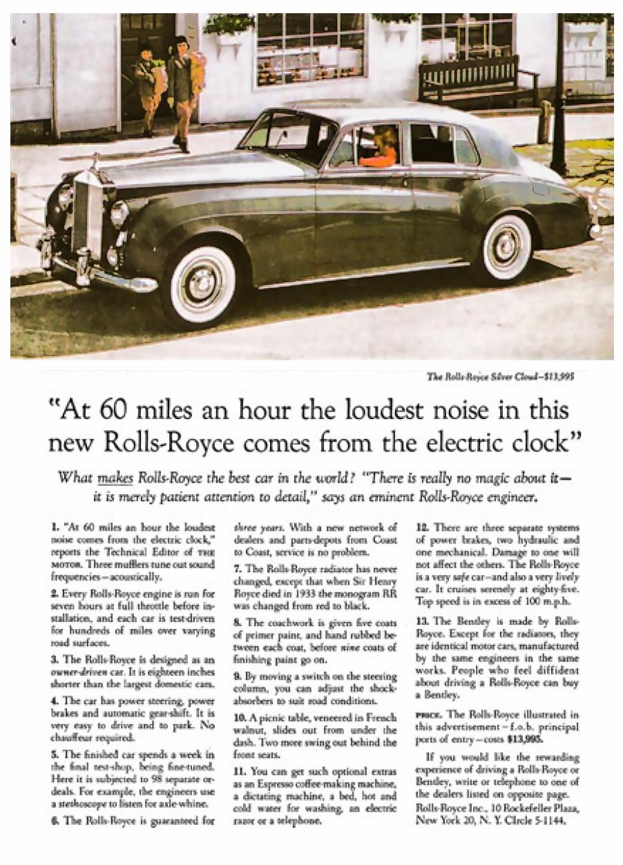 RR David Ogilvy Good Advertising Example