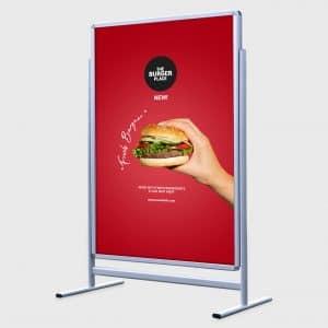 Display Stopper Swing Board