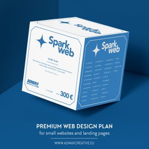 """Premium web design plan - """"Spark"""""""