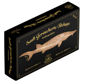 R. A. Seafoods packaging design. Smoked fish
